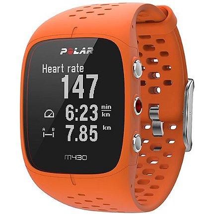 Relógio Polar M430 Hrm Pulso Gps Laranja