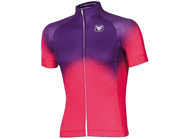Camisa Ciclismo Free Force Brume Vermelha