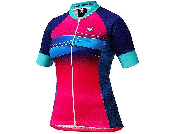 Camisa Ciclismo Feminina Free Force Swell