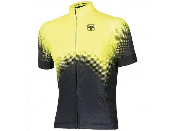 Camisa Ciclismo Free Force Brume Amarela