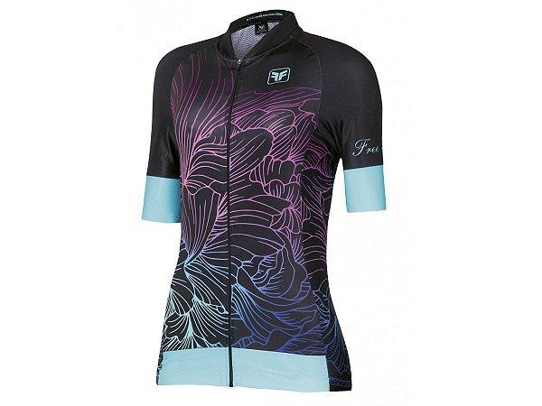 Camisa Ciclismo Free Force Glean Preta Feminina