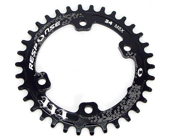 Coroa Session Para Bicicleta 34 T Bcd 96 M8000 Alumínio