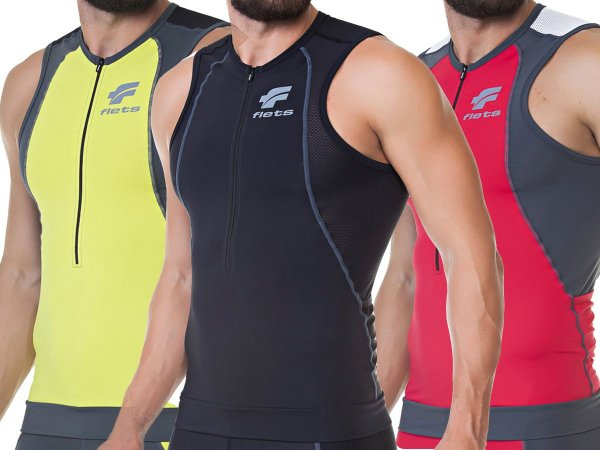 Top Regata Flets Triathlon Masculino