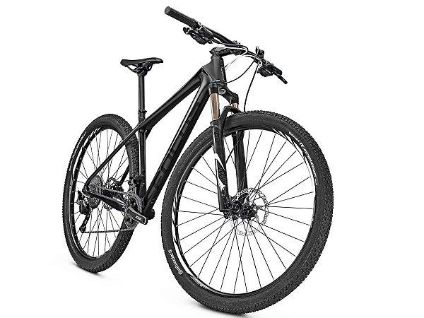 Bicicleta Mtb Focus Raven Core 29 Slx 22v Preta 2017 Tam M