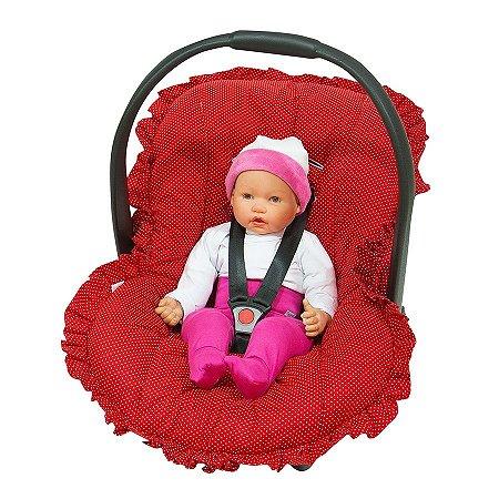 Capa Bebê Conforto 1 Pç - Menina e Menino