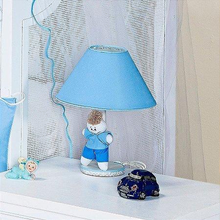 Kit de Acessórios Azul Bebê Menino 5 Peças
