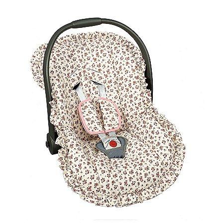 Capa Bebê Conforto Estampado 1 Pç - Menina e Menino