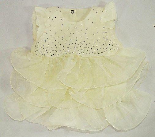 Vestido Chic Off White