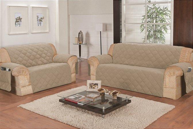 Protetor de sofa isa 2 e 3 lugares