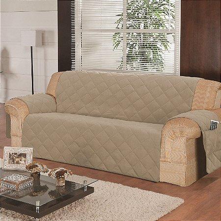Protetor de sofa ana 4 lugares