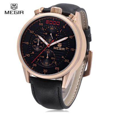 RELÓGIO MASCULINO MEGIR 3005 ORIGINAL - Americangrife 73b5794875