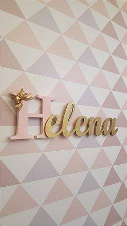 Nome decorativo para parede