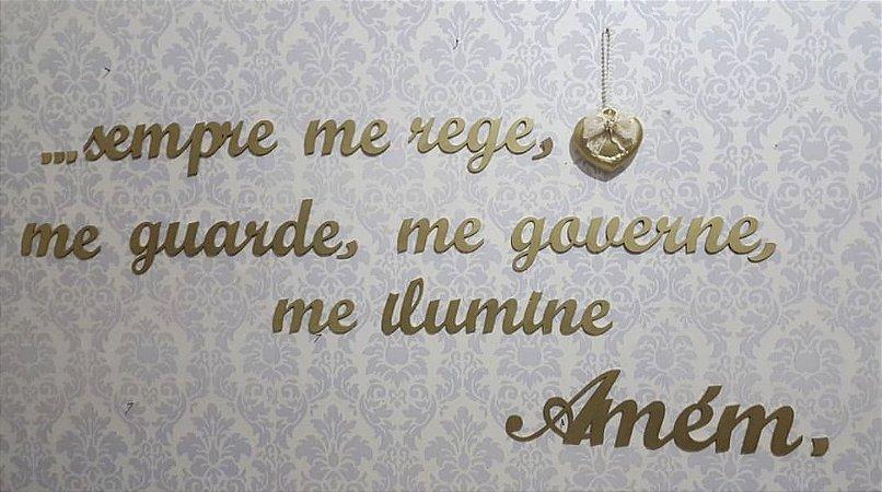 Oração Santo Anjo para parede