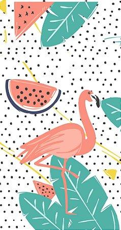 Caderneta Flamingos