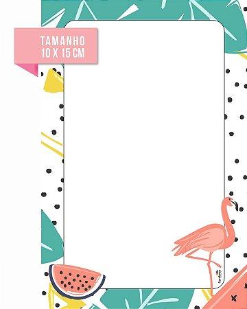 Blocos de Anotação Flamingos
