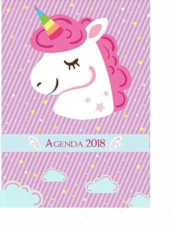 Agenda Unicórnio Lilas