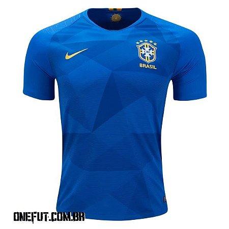 ONEFUT - CAMISA DE FUTEBOL BRASIL I 2018 - Onefut Sports 222cd3e985179
