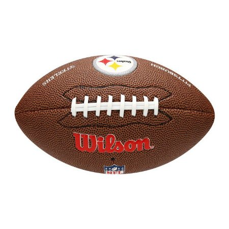 Bola Futebol Americano NFL Pittsburgh Steelers Wilson - WTF1540XBPT ... e1d8097355c8d