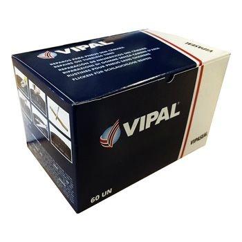 Refil Vipaseal 100mm para conserto de pneu sem camara passeio - cx c/ 60 pçs - Vipa
