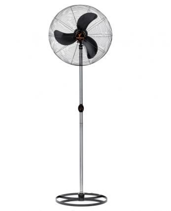 Ventiladores de 65 cm  <  Ventilador de Coluna 65 cm Preto com Grade Em Pintura Epóxi Preta