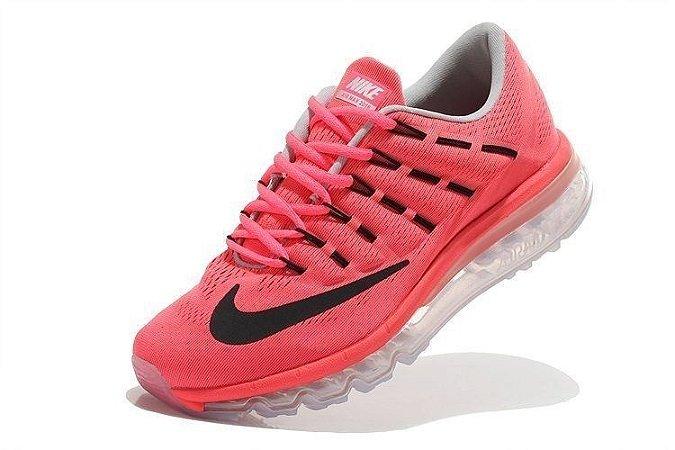 Tênis Nike Air Max 2016 -  Feminino - Vermelho