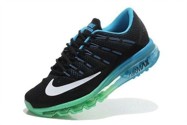 Tênis Nike Air Max 2016 - Masculino - Preto/Azul