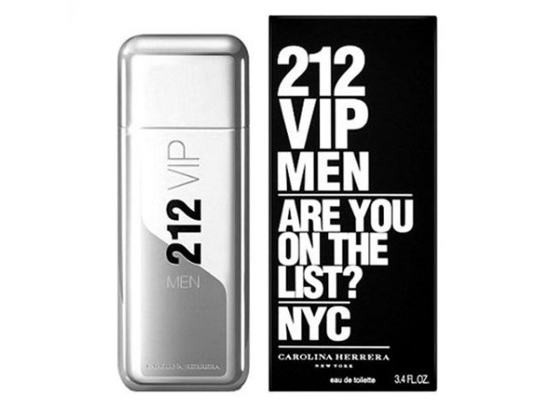 Perfume 212 Vip Men Carolina Herrera 100ml