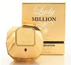 Perfume Lady Million Paco Rabanne 80ml