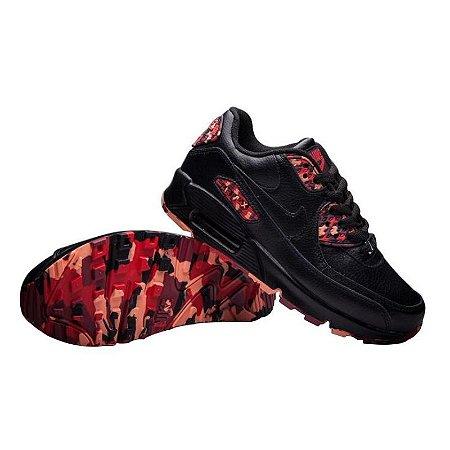 919b56156f Tênis Nike Air Max 90 Preto e Rosa - Calçados50off® - Compre Seu ...