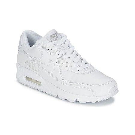 3327a2ce874 Tênis Nike Air Max 90 Branco - Calçados50off® - Compre Seu Tênis ...