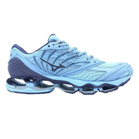 b6f7004f8c49f Tênis Mizuno Wave Prophecy 8 - Azul Claro - Calçados50off® - Compre ...