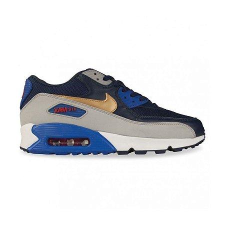 4dcaa5a03a Tênis Nike Air Max 90 - Essential Midnight - Calçados50off® - Compre ...