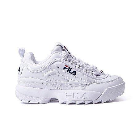 3011560764 Tênis Fila Disruptor 2 - Branco - Calçados50off® - Compre Seu Tênis ...