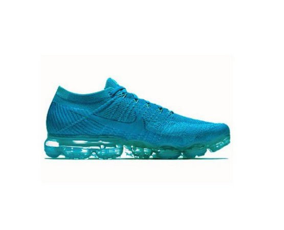 outlet store 4aa42 328a9 Tênis Nike Air Max Vapormax 2 Flyknit 2018 - Azul Claro