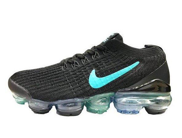 Tênis Nike Air Max Vapormax 3 - Preto e Azul