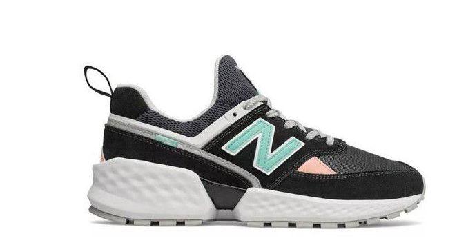 Tênis New Balance 574 - Preto e Verde