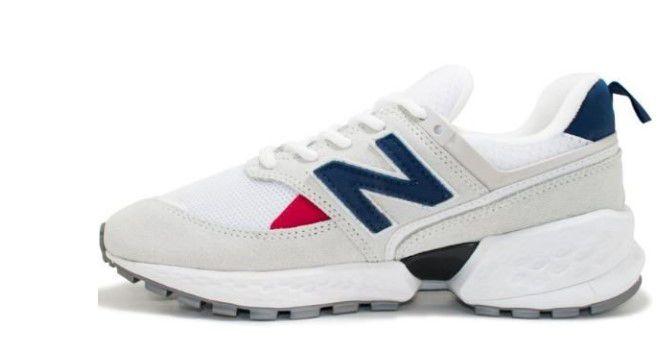 Tênis New Balance 574 - Branco e Azul