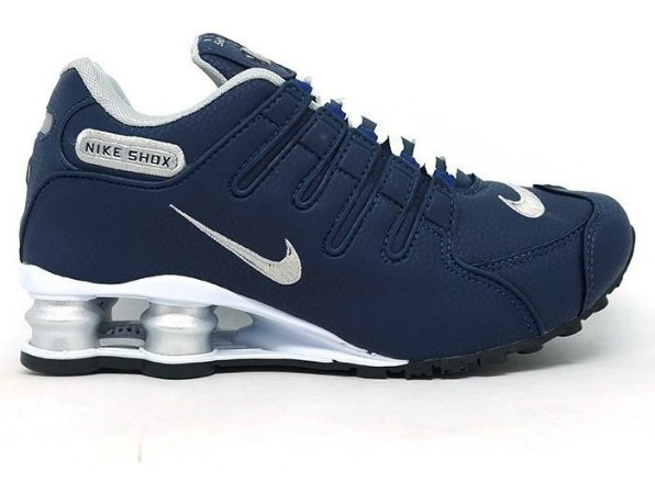 Tênis Nike Shox NZ - Azul e Branco