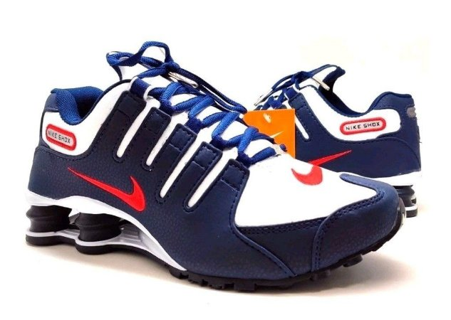 Tênis Nike Shox NZ - Colorido