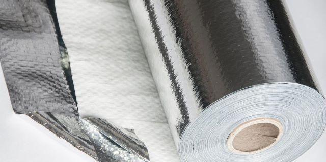 Manta térmica Subcobertura Face Única - 1m x 50m - COBERFOIL