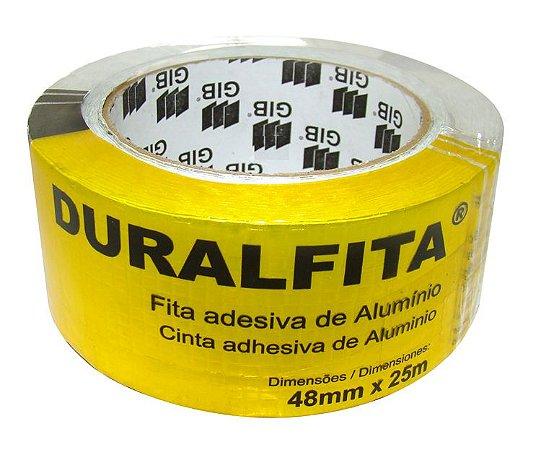 Fita Adesiva Alumínio Duralfita 4,8cm x 25m
