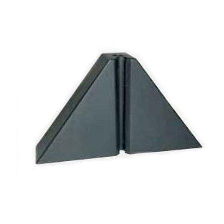 Calço trapézio T100 preto - 2 Furos