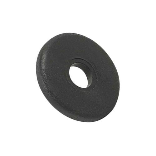 Arruela de vedação reta 1/4 pvc - Pacote 100 peças