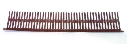 Passarinheira Universal Chocolate Unitário - 50cmx8cm