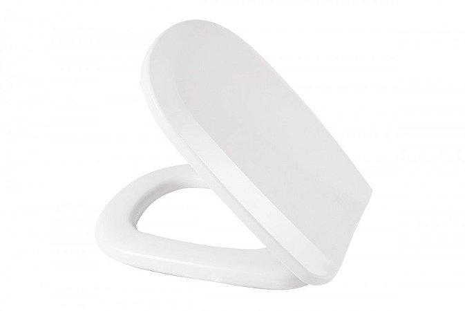 Assento Sanitário Almofadado Perfecto Multi Branco - Metasul
