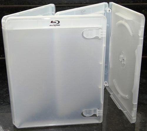 Capa para DVD BlueRay Transparente - Cx c/ 100 Unidades