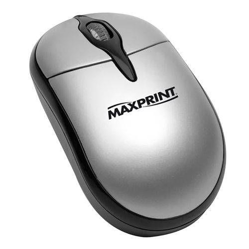 Mouse ótico PS/2 - Maxprint - 60527-5