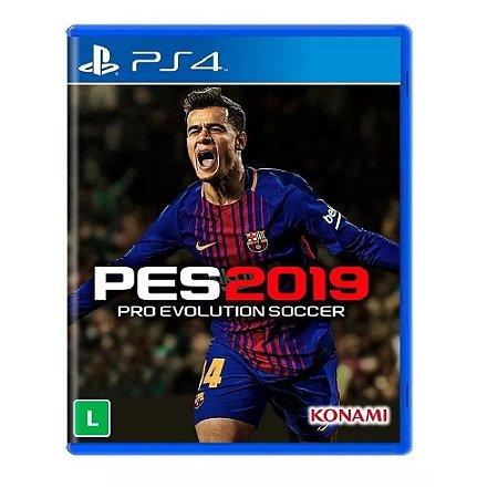 Jogo Pro Evolution Soccer PES 2019 para PS4 - Mídia Física