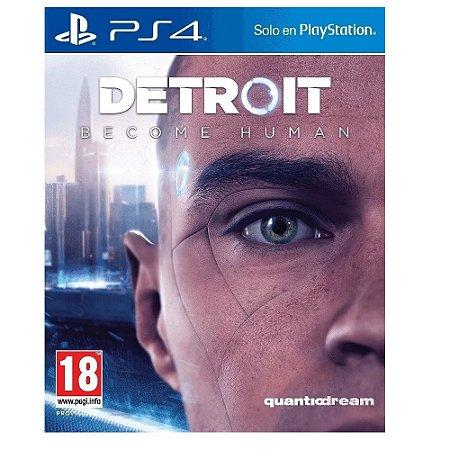 Jogo Detroit Become Human para PS4 - Mídia Física
