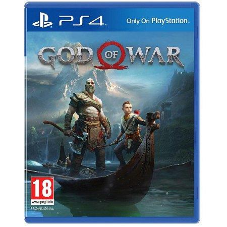 Jogo God Of War para PS4 - Mída Física
